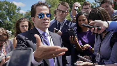 Scaramucci makes profane, sexually explicit rant about Preibus, Bannon