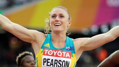 Sally Pearson back in the game at the World Athletics Championships