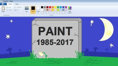 Microsoft farewells Paint software after 32 years