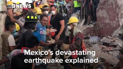Search for Mexico quake survivors goes on