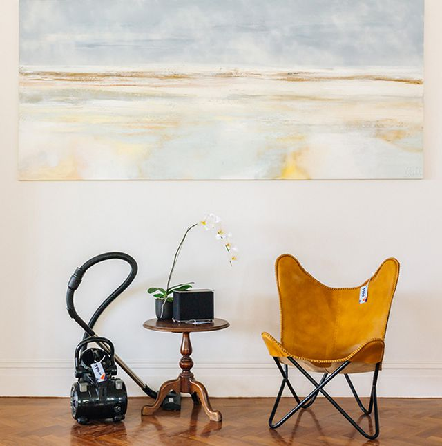 "Vacuum $99.99, Butterfly wing chair $199, <a href=""https://www.aldi.com.au/"" target=""_blank"">ALDI</a>"