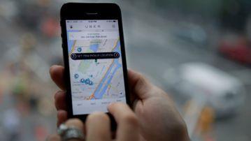 Debate has reignited over ridesharing app, Uber. (9NEWS)