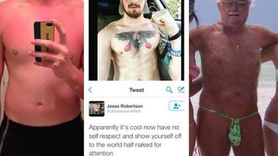 Twitter user calls out 'hypocrite' and 'sexist' men who shame women online