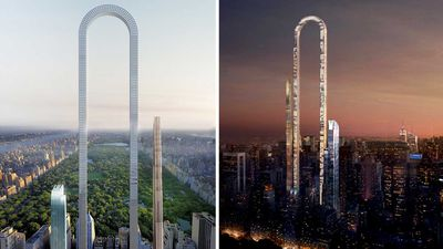 The Big Bend: incredible u-shaped skyscaper set for NYC