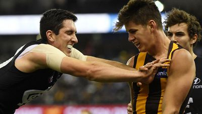 Blues end Hawks' faint AFL finals hopes
