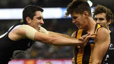 Blues end Hawks' faint AFL finals hopes