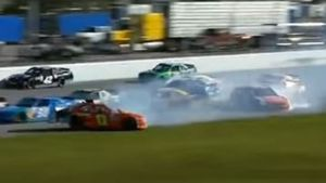 Drama at Daytona