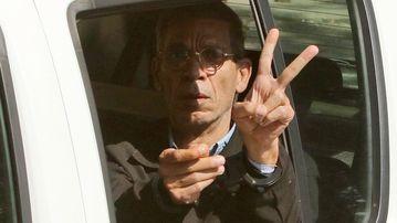 Mostafa after his arrest. (AAP)