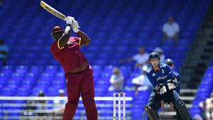West Indies unleash 140kg batting behemoth