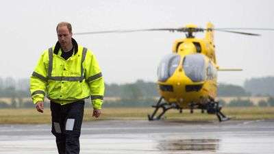 Prince William leaves job to pursue royal duties full-time