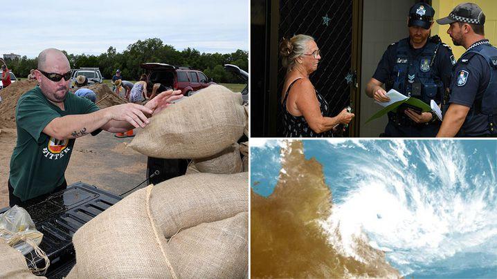 Cyclone Debbie: Queensland braces as storm intensifies to Category 4