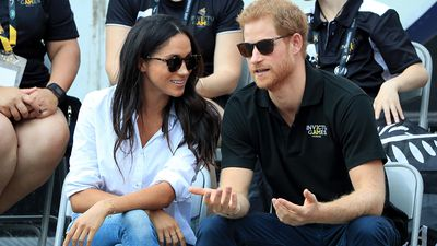Prince Harry and Meghan Markle make their public debut