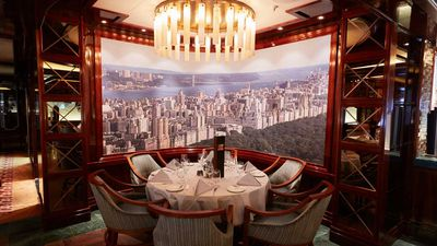 Cruise review: Princess Cruises' jewel is in its Michelin-starred dining