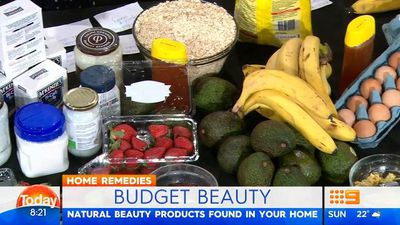 Today hosts reveal foods that make the best beauty products; cheap, delicious and in your cupboard right now