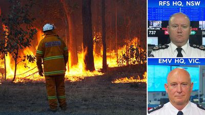 Fire danger increases in Queensland as NSW fire crews kept on edge