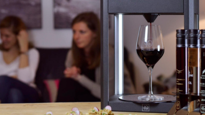 Nespresso-style wine machine delivers vino on tap