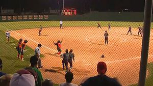 Softball team celebrate early, lose game