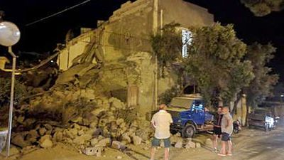 Woman dies after earthquake strikes Italian tourist island