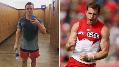 How the average Aussie measures up to a professional AFL player