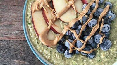 Tim Robards' zoats (zucchini oats)