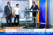 Deskercise you can do at work