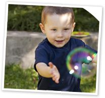 Make this: giant bubbles