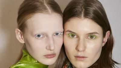 The coloured mascara comeback