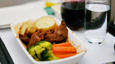Nutritionist's verdict on the best in-flight food