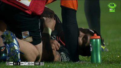 Injury to Issac Luke sours Warriors win over Bulldogs