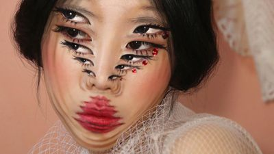 The makeup artist that will have you seeing sideways