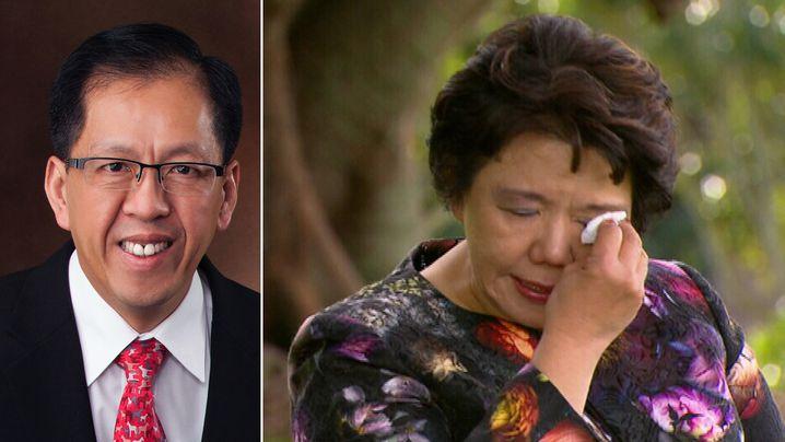 Curtis Cheng's widow reveals twist of fate that put him in terrorist's path