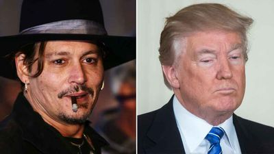 Johnny Depp apologises for Donald Trump assassination joke