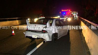 Multi-vehicle crash causes Sydney M7 traffic chaos