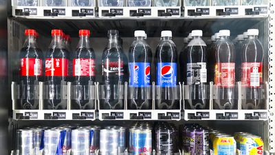 Some teenage boys drink over 50 litres of soft drink a year, research finds
