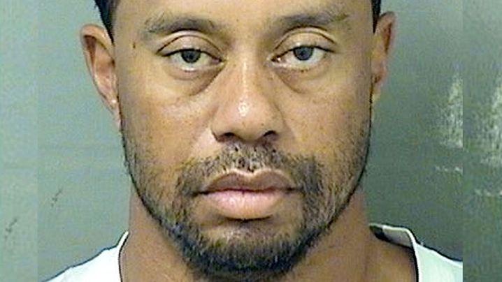 Tiger Woods arrested for DUI in Florida