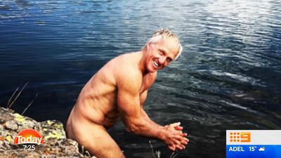 Golfing great Greg Norman, 62, gets naked in the wilderness