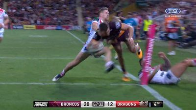 The weird and wonderful moments from round 24 of the NRL season
