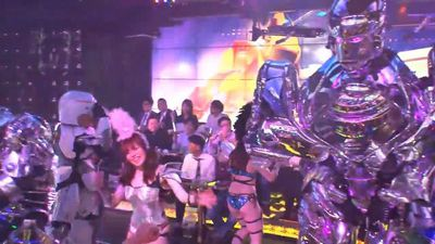 Get your fill of bright, frenzied fun at Tokyo's Robot Restaurant