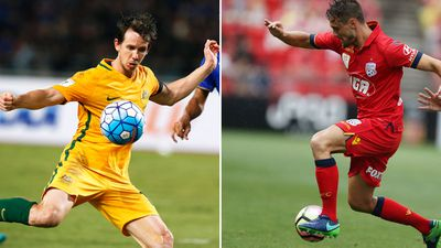 Socceroos Kruse, Holland move to China