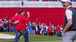 Heckling Ryder Cup fan sinks putt to win $100 bet with European player