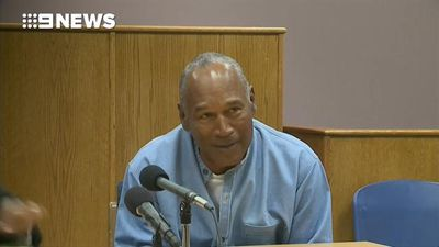 OJ Simpson granted parole after nine years behind bars
