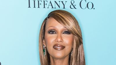 Iman's touching red carpet tribute to David Bowie