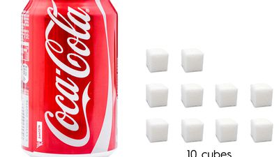 Visualise how much sugar is really in your favourite drinks