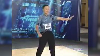 American Idol star William Hung sings 'She Bangs' at karaoke