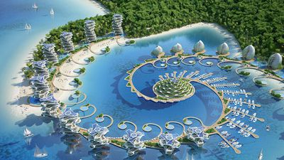 A futuristic eco-friendly resort is set to be built in the Philippines