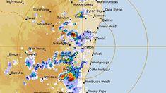 The Bureau of Meteorology's radar this afternoon. (Bureau of Meteorology)