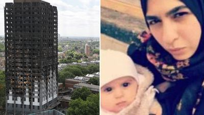 Baby found dead in mother's arms inside Grenfell Tower