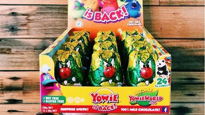 Yowie sales skyrocket after returning to Aussie shelves