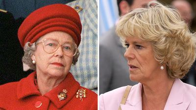 The day the Queen banished Camilla