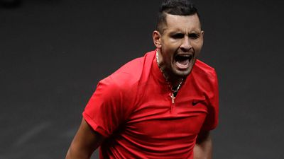 'I'm about to lose my s--t': Kyrgios blows up in Prague